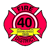Fire District 40 Logo